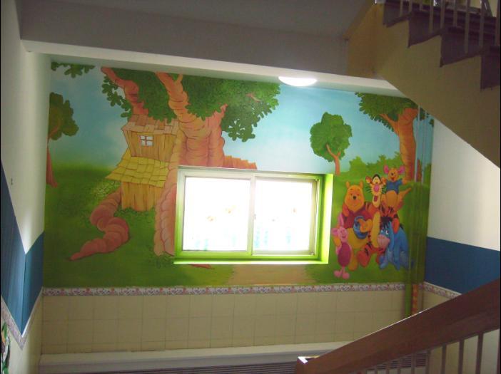 北京天地新潮手绘壁画公司生产供应北京儿童房壁画; 北京天地新潮手绘