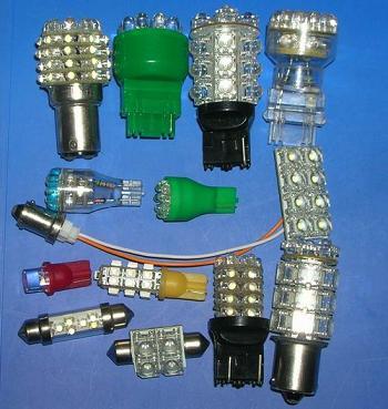 佳木斯led汽车灯配件图片
