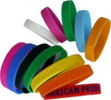 供应手环,硅胶手环,PVC手环,广告促销手环
