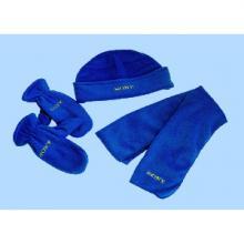 供应摇粒绒三件套,围巾,帽子,手套