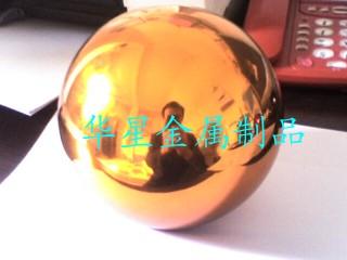 供应彩色不锈钢空心球,彩色空心钢球,不锈钢彩球