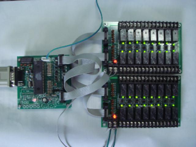 供应USB口控制继电器板(独立控制16路