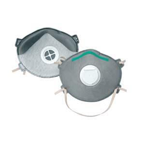 供应N95带呼吸阀型防有机气体和微细粉尘用口罩批发