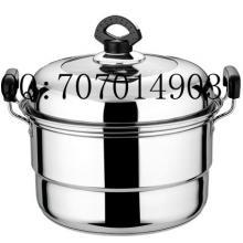 不锈钢组合盖蒸锅供应