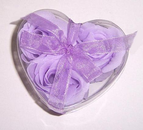 供应浪漫淡紫色香皂花