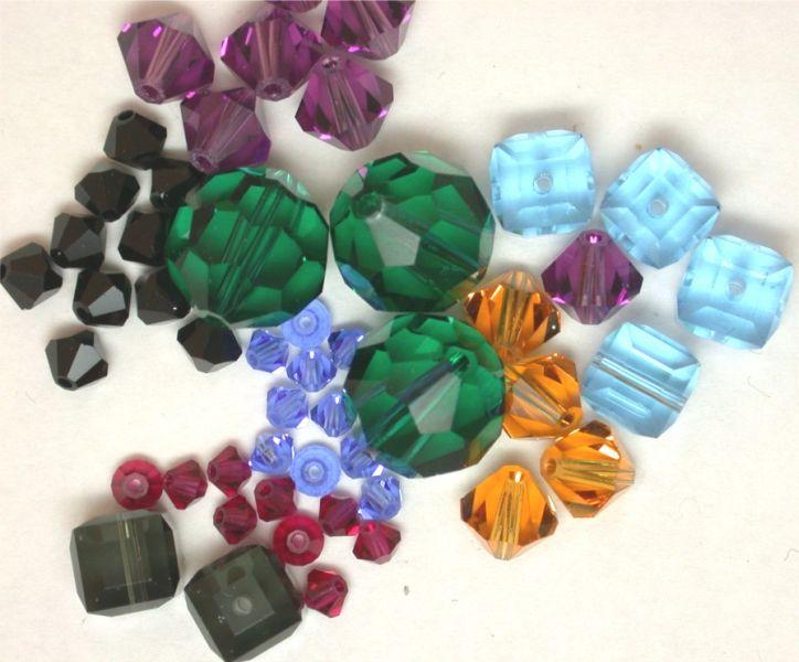 水晶馒头珠图片