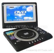 7寸便携式DVD图片