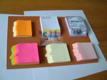 供应纸砖方便贴记事贴