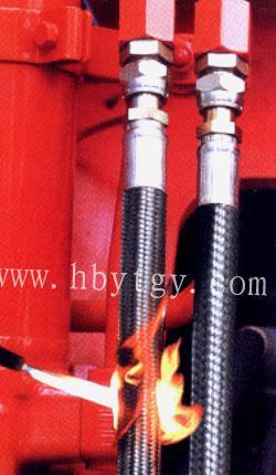 供应各种阻燃耐火胶管批发