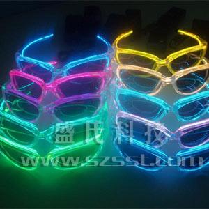 EL发光眼镜