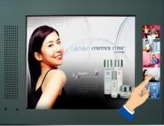10寸按键液晶广告机图片