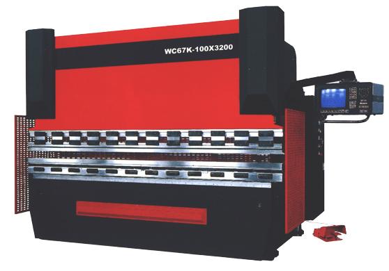 供应wc67k数控液压板料折弯机图片