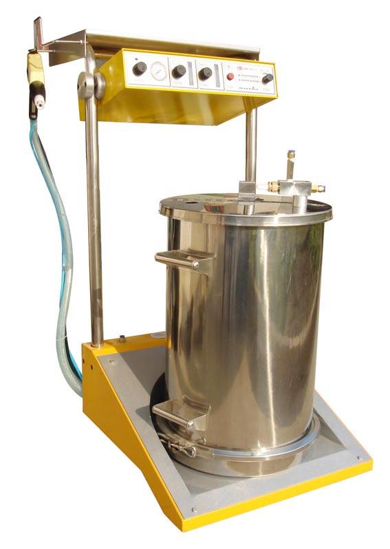 喷粉系统:高压静电发生器,内置高压静电喷枪,高压粉末静电喷涂