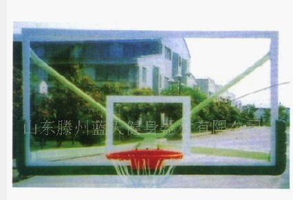 玻璃篮板有机玻璃篮板玻璃钢篮板smc篮板休闲篮球架