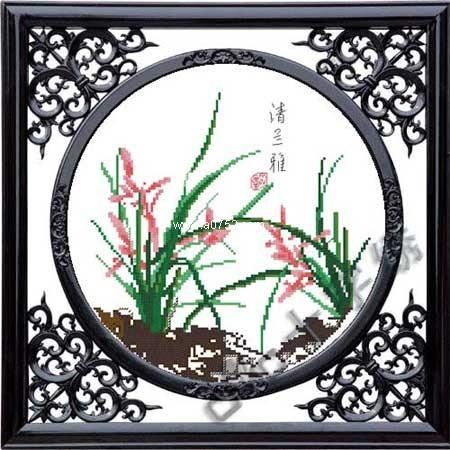 惠阳CMC十字绣生产供应清兰雅十字绣