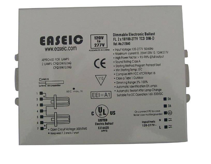 供应数字可寻址调光电子镇流DALI镇流器批发
