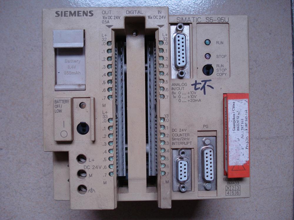 西门子plc连接安川伺服接线图