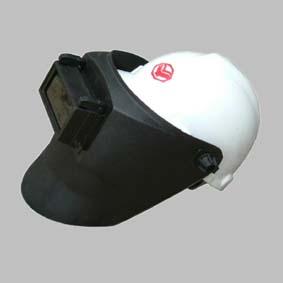 电焊头盔矢量图