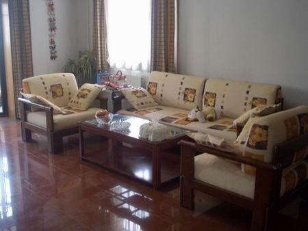 司生产供应布艺实木沙发