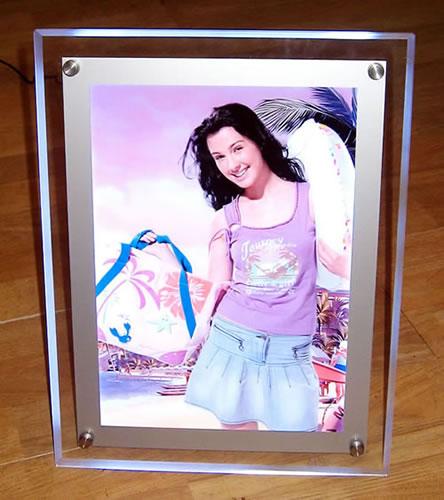 供应水晶超薄灯箱图片