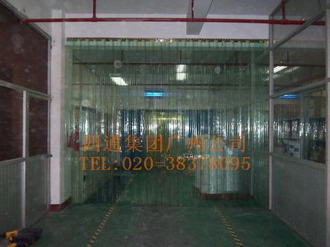四通门帘厂生产PVC门帘图片