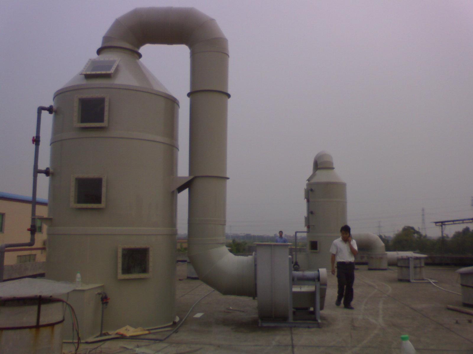 广东卧式废气处理塔图片