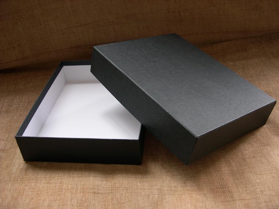 天地盖包装盒结构展开图