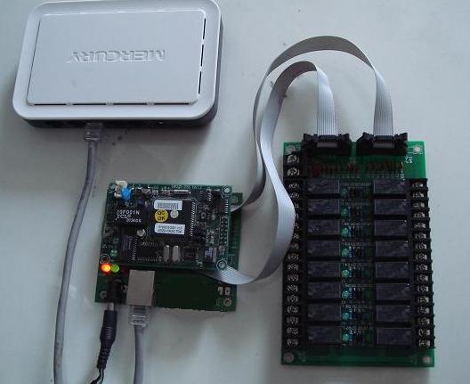 供应局域网络控制继电器控制板
