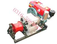 供应柴油机机动绞磨机动绞磨牵引机绞盘批发