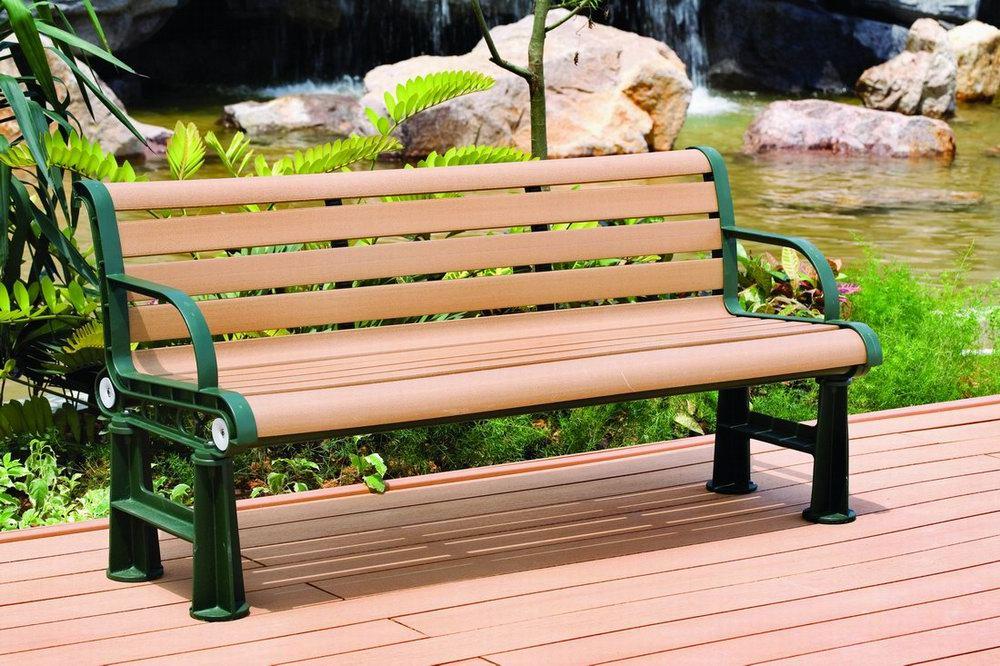 塑木椅子图片