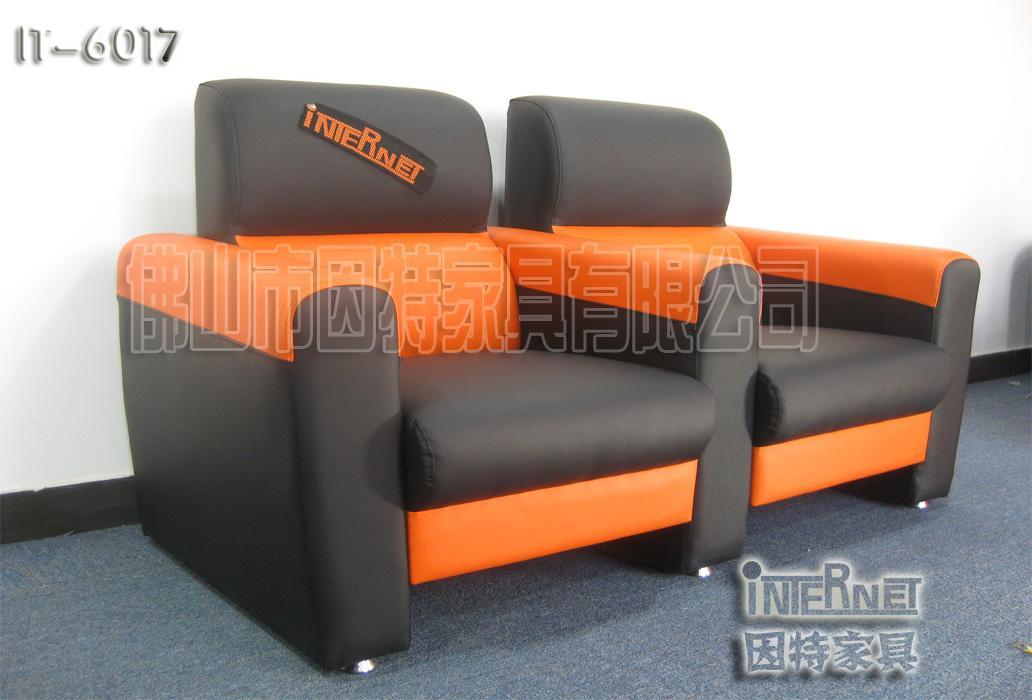 西安高端网吧桌椅沙发图片