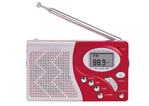 ...收音机图片简述:FMMW2波段液晶屏幕显示 .. 钟控定时开机. ...