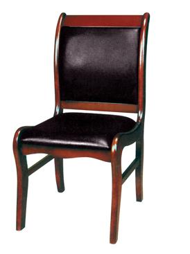 会议椅实木椅图片