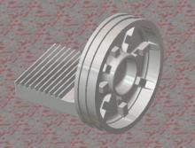 供应气动执行器气缸齿条活塞铸件