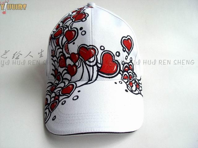 创意帽子设计手绘