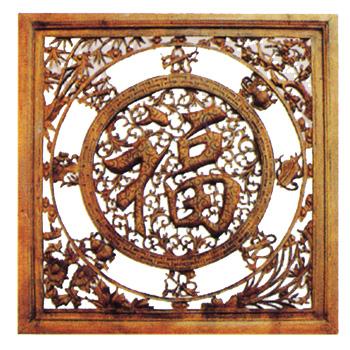 木雕摆件图片