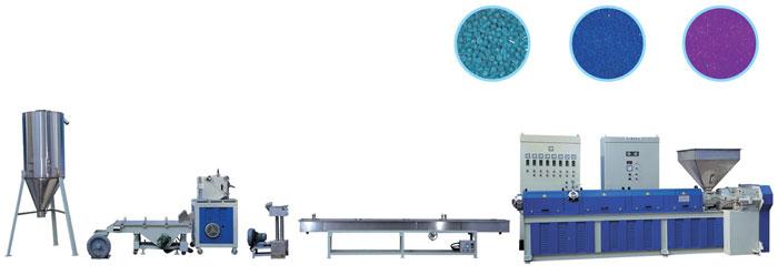 高速染色造粒機整廠設備圖片