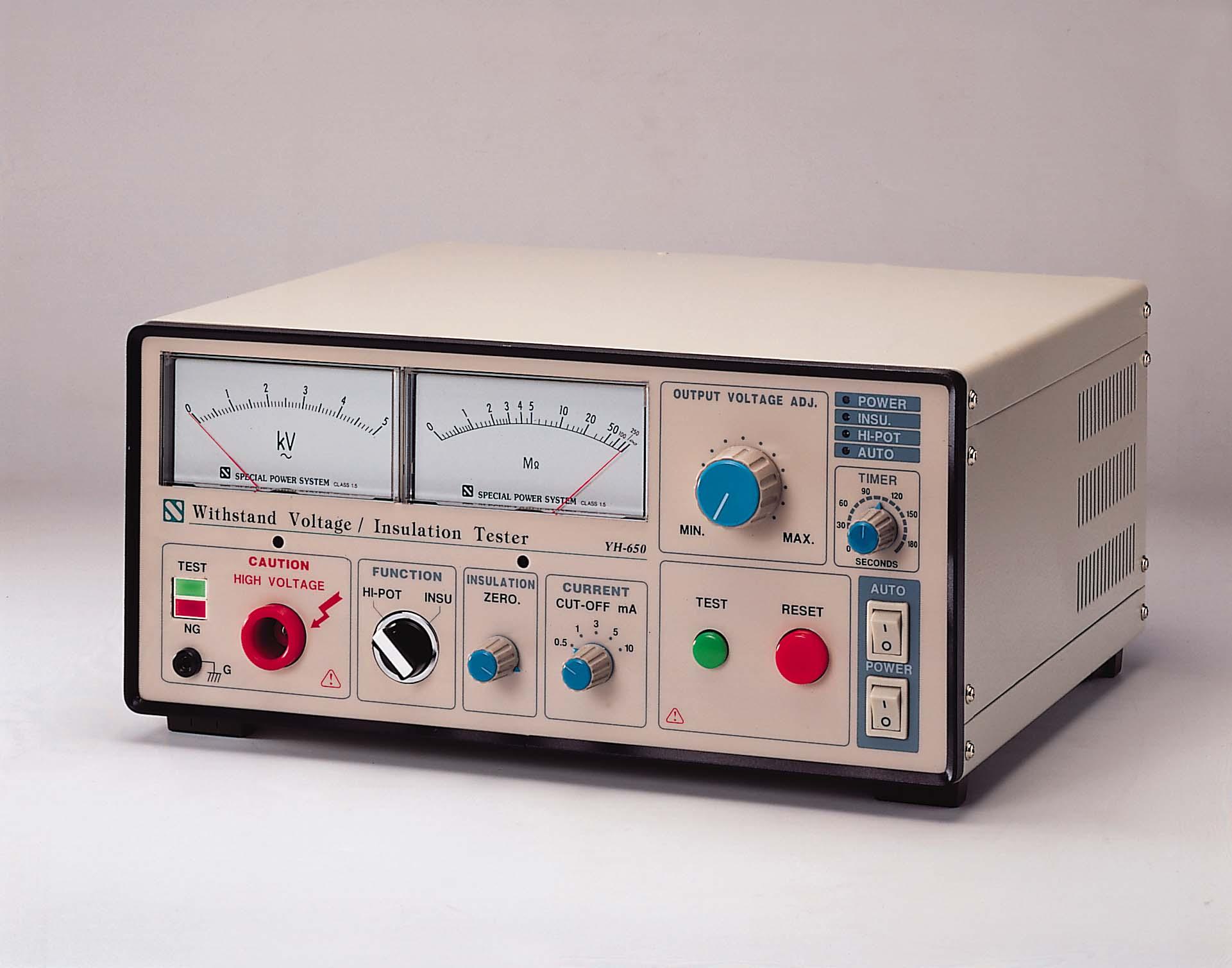 yh650经济性绝缘耐压测试仪报价