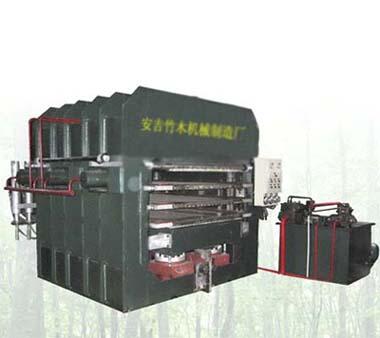 供应竹地板热压机