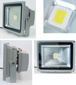 50W大功率LED泛光灯