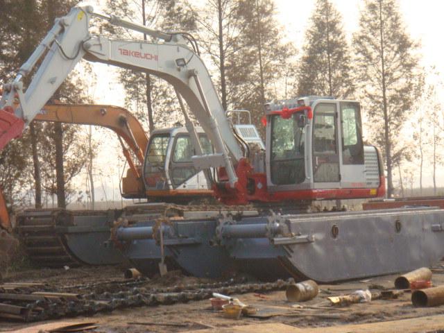 供应竹内160水陆挖掘机