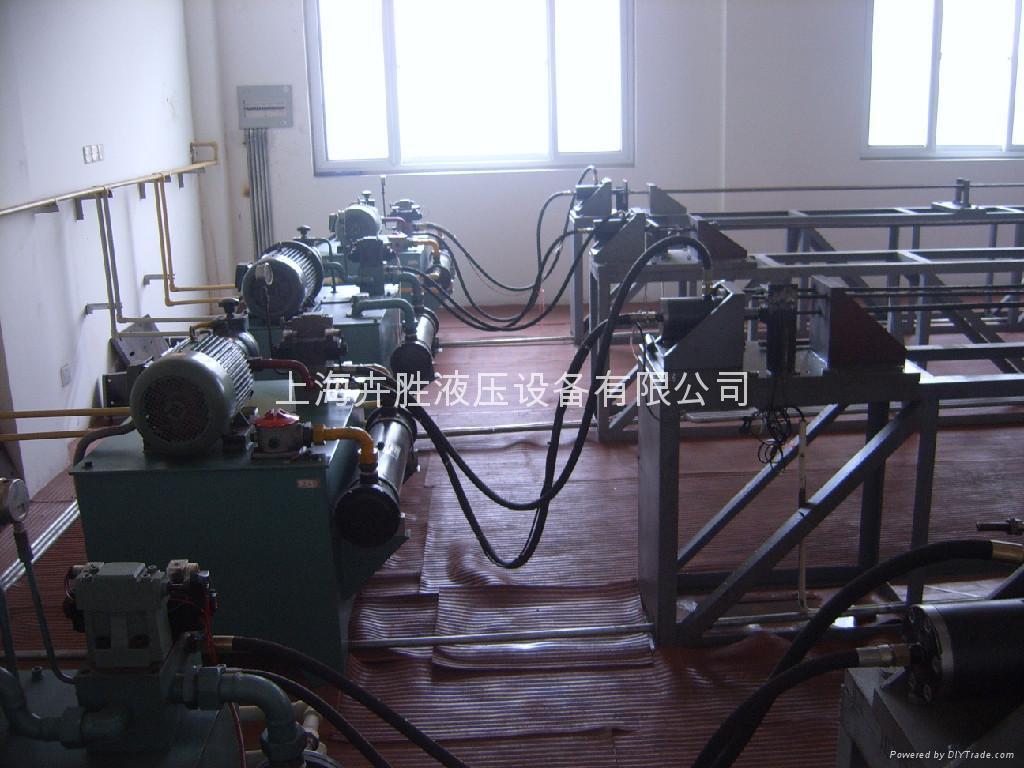 供应液压系统上海液压站设计图片