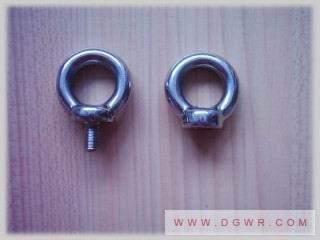 供应不锈钢美制吊环螺栓