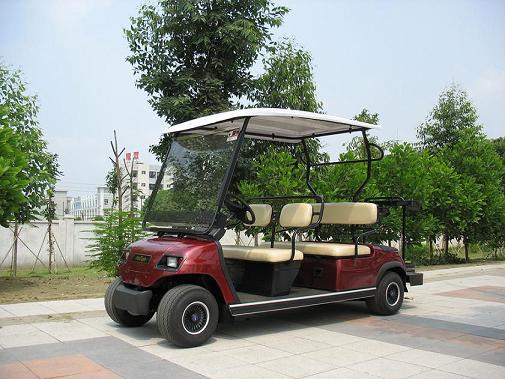 供应珲春市4座高尔夫观光车图片
