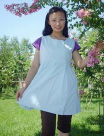 防辐射圆领孕妇裙