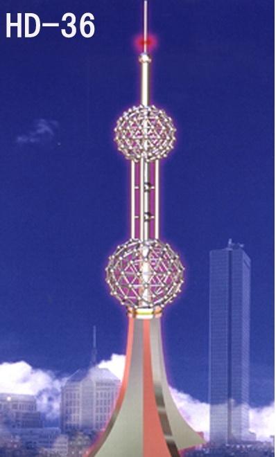 供应消防训练塔不锈钢塔装饰避雷塔