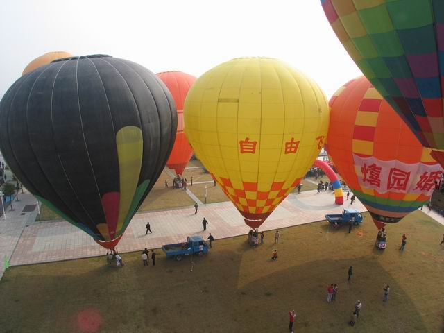 河南风之旅庆典火箭公司生产供应热气球; 空飘气球效果图图片大全