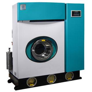 供应洁机皇牌环保型全封闭全自动干洗机图片