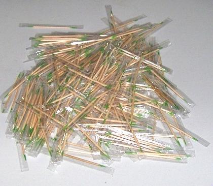 供应木制牙签批发