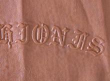 供应皮革服装皮具压花机械设备